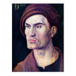 Albrecht Durer - Portrait of a young man Postcard