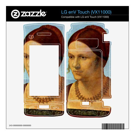 Albrecht Durer - Portrait of a young woman Decals For LG enV Touch