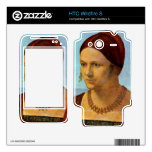 Albrecht Durer - Portrait of a young woman Decal For HTC Wildfire S