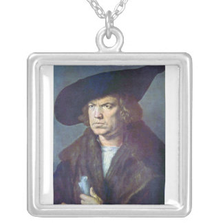 Albrecht Durer - Portrait of an unknown Pendants