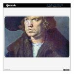 Albrecht Durer - Portrait of an unknown Skins For MacBook