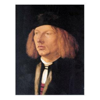 Albrecht Durer - Portrait of Burkard von Speyer Postcards