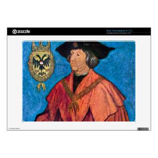 Albrecht Durer - Portrait of Emperor Maximilians I Acer Chromebook Decals