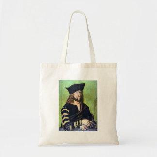 Albrecht Durer - Portrait of Friedrich des Weisen Canvas Bags