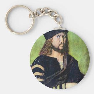 Albrecht Durer - Portrait of Friedrich des Weisen Keychain