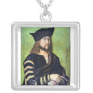 Albrecht Durer - Portrait of Friedrich des Weisen Custom Jewelry