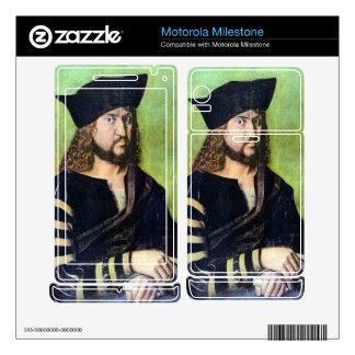 Albrecht Durer - Portrait of Friedrich des Weisen Motorola Milestone Skins