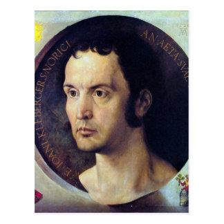 Albrecht Durer - Portrait of Johannes Kleberger Postcards