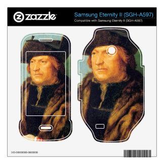 Albrecht Durer - Portrait of Rodrigo de Almada Samsung Eternity II Decal