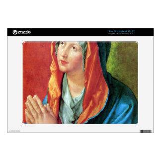 Albrecht Durer - Praying Mary Decal For Acer Chromebook