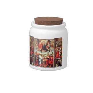 Albrecht Durer - Reconstruction of the open altar Candy Jar