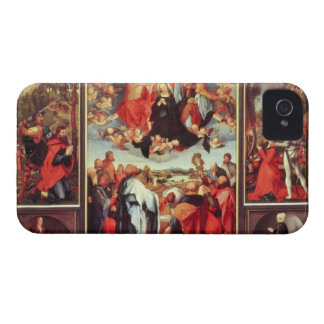 Albrecht Durer - Reconstruction of the open altar iPhone 4 Cases
