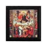 Albrecht Durer - Reconstruction of the open altar Trinket Box