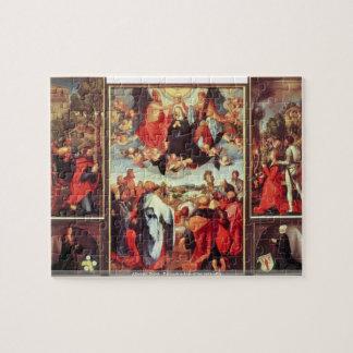 Albrecht Durer - Reconstruction of the open altar Puzzle