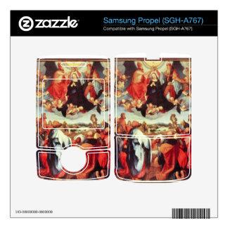 Albrecht Durer - Reconstruction of the open altar Skin For Samsung Propel