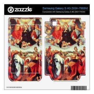Albrecht Durer - Reconstruction of the open altar Samsung Galaxy S 4G Decal