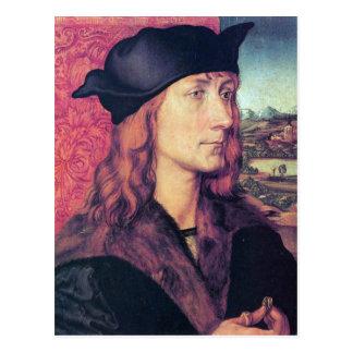 Albrecht Durer - retrato de Hans Tucher Tarjeta Postal