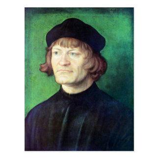 Albrecht Durer - retrato de un clérigo Tarjetas Postales