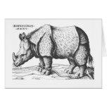 Albrecht Durer - Rhinoceros Cards