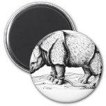 Albrecht Durer - Rhinoceros Fridge Magnets