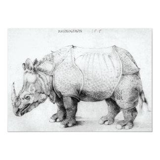 Albrecht Durer Rhinoceros Invitations