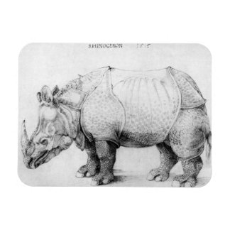 Albrecht Durer Rhinoceros Magnet