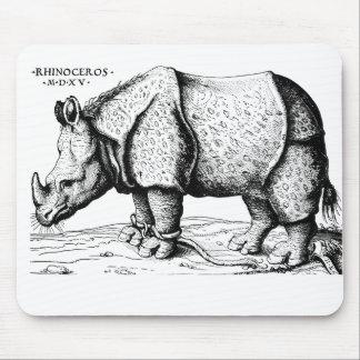 Albrecht Durer - rinoceronte Alfombrilla De Ratones