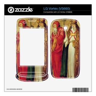 Albrecht Durer - Saints Simeon and Lazarus Decals For The LG Vortex