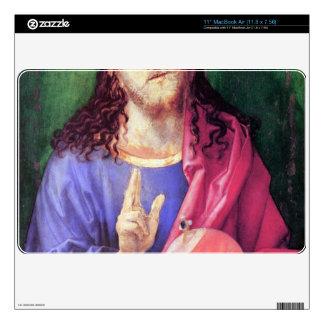 Albrecht Durer - Salvator Mundi MacBook Air Calcomanías