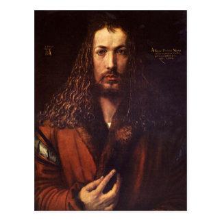 Albrecht Durer - Self Portrait 2 Postcard