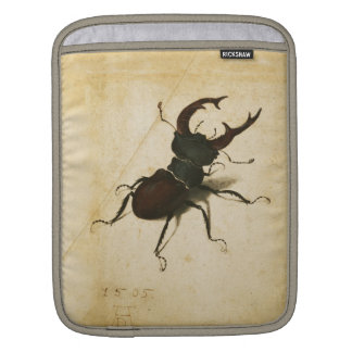 Albrecht Durer Stag Beetle Renaissance Art Drawing iPad Sleeve