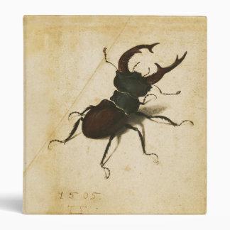 Albrecht Durer Stag Beetle Renaissance Vintage Art 3 Ring Binder