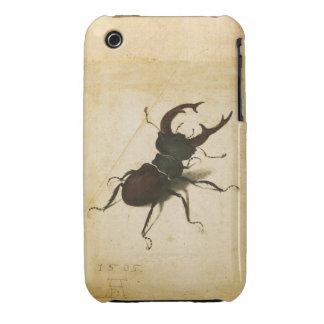Albrecht Durer Stag Beetle Renaissance Vintage Art iPhone 3 Cases