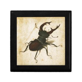 Albrecht Durer Stag Beetle Renaissance Vintage Art Jewelry Boxes