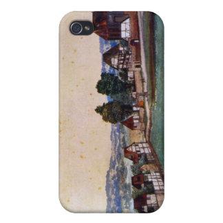 Albrecht Durer - suburbio de Nuremberg con una igl iPhone 4 Cobertura