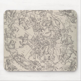 """Albrecht Durer - """"The Celestial Map - North"""" Mouse Pad"""