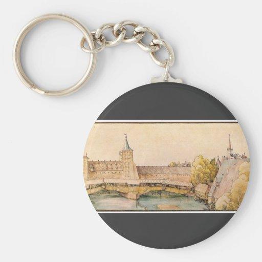 Albrecht Durer - The dry bar in Nuremberg Key Chain
