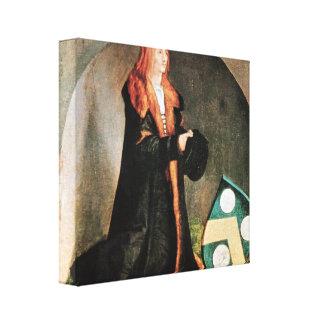 Albrecht Durer - The founder Jacob Heller Stretched Canvas Print