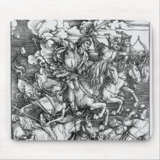"""Albrecht Durer - """"The Four Horsemen"""" Mouse Pad"""
