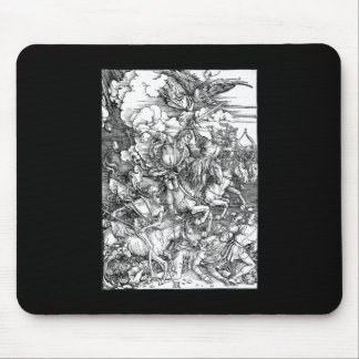 Albrecht Durer The Four Horsemen of the Apocalypse Mouse Pad