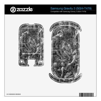 Albrecht Durer - The Great Calvary Detail Samsung Gravity 3 Decals