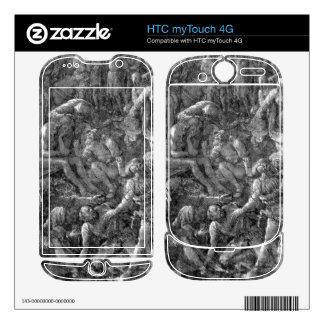 Albrecht Durer - The Great Calvary Detail Skin For HTC myTouch 4G