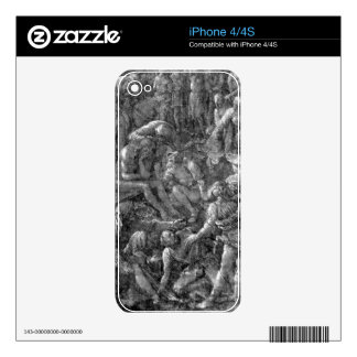 Albrecht Durer - The Great Calvary Detail Skins For The iPhone 4S