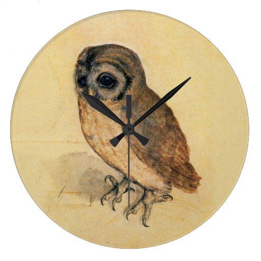 Albrecht Durer The Little Owl Clocks