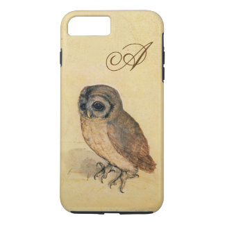 Albrecht Durer The Little Owl Custom Monogram iPhone 8 Plus/7 Plus Case