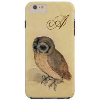 Albrecht Durer The Little Owl Custom Monogram Tough iPhone 6 Plus Case