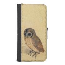 Albrecht Durer The Little Owl iPhone SE/5/5s Wallet Case