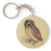 Albrecht Durer The Little Owl Keychain