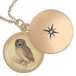 Albrecht Durer The Little Owl Locket Necklace