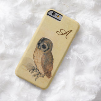 Albrecht Durer The Little Owl Monogram Barely There iPhone 6 Case